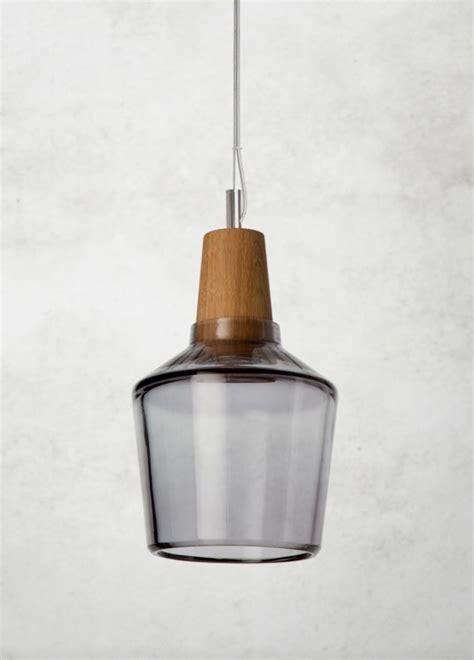 Pendelleuchte Glas by Pendelle Industrial 15 16p Aus Glas Mit Holzfassung