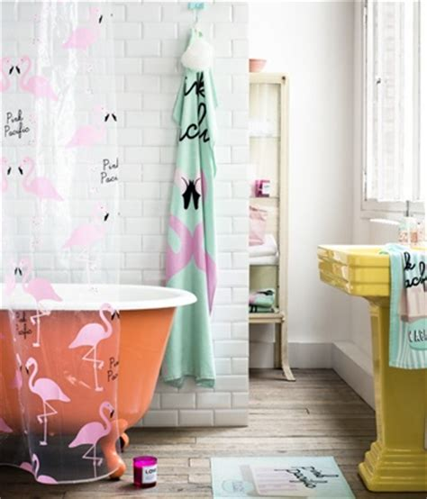 flamingos in bathroom 17 best images about pink flamingo shower curtain on