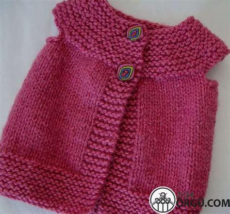 kz bebek yelegi modeli 214 rg 252 kız bebek yelek modelleri şirin kızlara şirin
