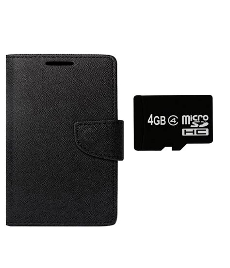 Memory Card Asus dcoll flip cover for asus zenfone 4 with 4gb memory card black buy dcoll flip cover for asus