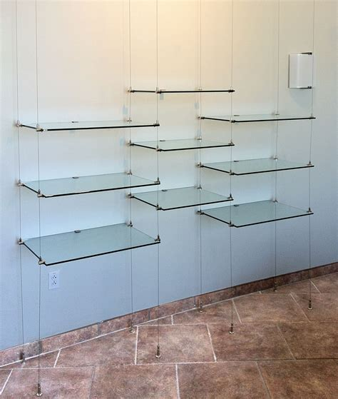 Hanging Ceiling Shelves by 15 Best Ideas Of Suspended Glass Shelves