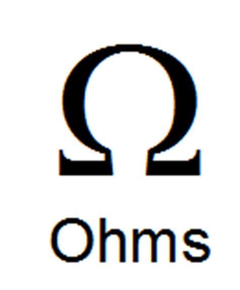 resistor ohm symbol beginning robotics resistors boysdad