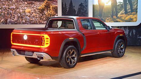 volkswagen truck volkswagen atlas tanoak truck concept debuts at the
