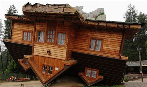upside down house poland 35 unusually bizarre buildings that will make you say wtf