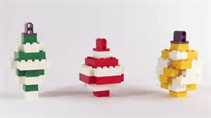 how to build lego christmas ornaments youtube