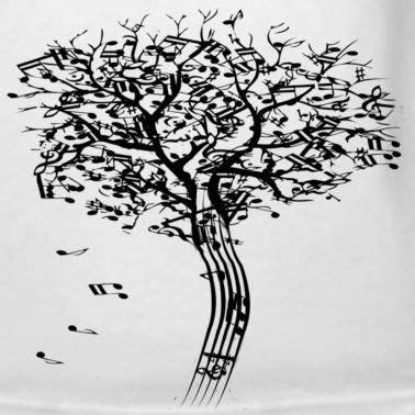 musical tree musical tree in the wind ink ideas