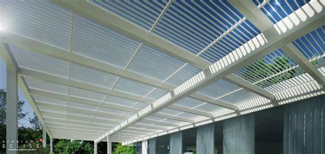 tettoia frangisole frangisole in alluminio per coperture per protezione