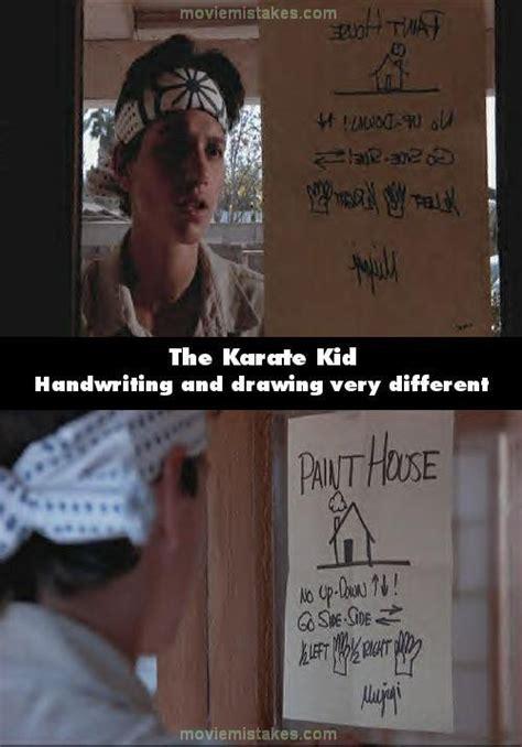 film quotes karate kid the karate kid 1984 trivia