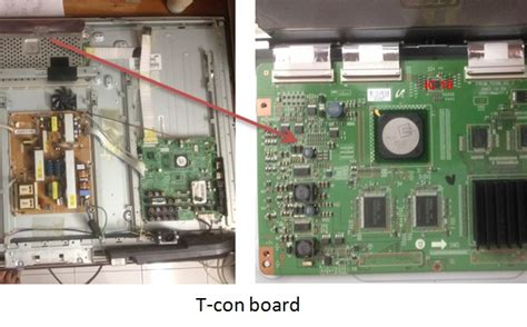 Ic Driver Tv Led Samsung how to repair samsung lcd tv with vertical lines electronics repair and technology news