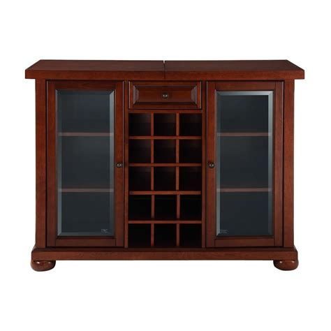 All 15 Cabinet Departments by Shop Crosley Furniture Alexandria Vintage Mahogany 15