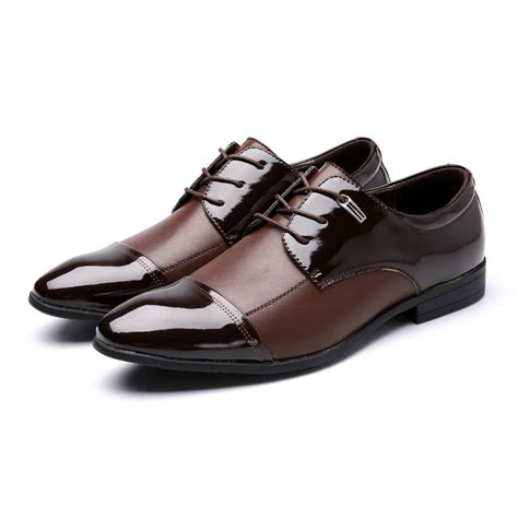 big dress shoes big size casual genuine leather dress shoes