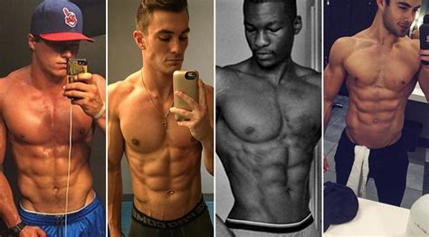 guys who laid on beach 2 long the best men s abs on instagram muscle fitness