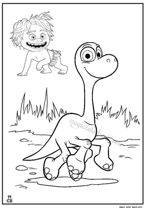 coloring page the good dinosaur good dinosaur coloring pages free print