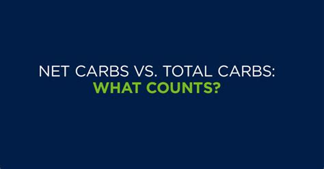 carbohydrates vs net carbs net carbs vs total carbs what counts the loop