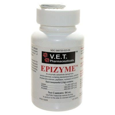pancreatic enzymes for dogs epizyme for dogs and cats pancreatic enzyme concentrate vetrxdirect