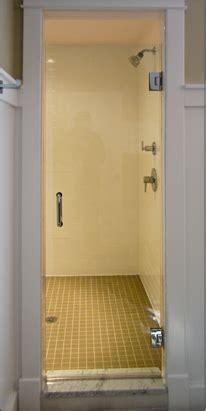 Single Glass Shower Doors Frameless Shower Door Single Door