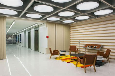 Ceiling Graphics by Melbourne Office By Futurespace