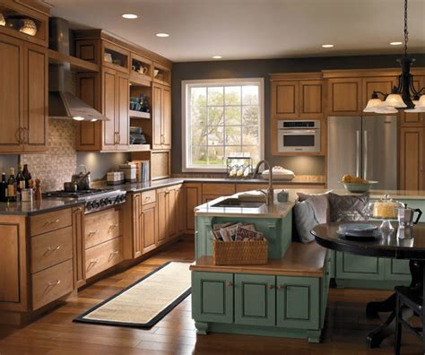 schrock kitchen cabinets schrock cabinetry maple palomino traditional kitchen
