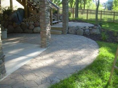 Extend Patio With Pavers Arbel Paver S Used To Extend A Concrete Patio For The Home Pinterest Concrete Patios
