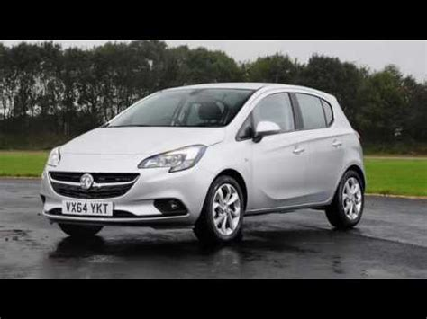vauxhall corsa 2017 vauxhall corsa hatchback 2017 review youtube