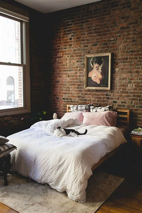 trendy brick accent wall ideas   room digsdigs