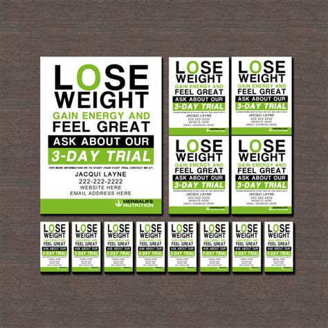 club business cards templates herbalife flyers and business cards by wackyjacquisdesigns