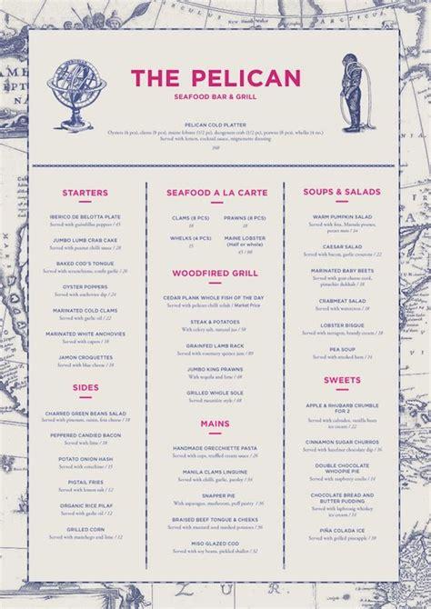 layout menu bar best 25 restaurant menu design ideas on pinterest menu