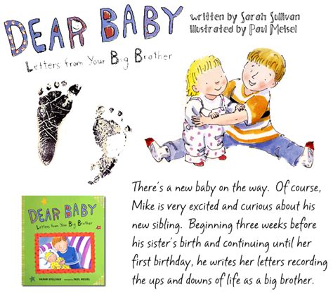dear baby stories books sullivan