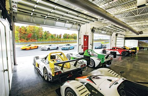 The Garage Motor Club by Inside The Gates Of America S Not So Secret Racetracks