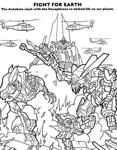 transformers coloring pages best gift ideas blog