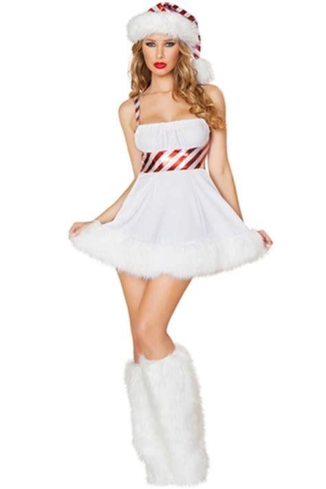 white cute ladies lollipop christmas dress hat snowman
