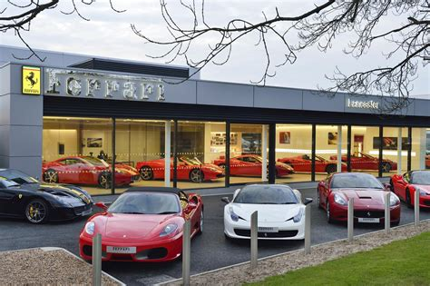 ferrari dealership new ferrari showroom in lancaster