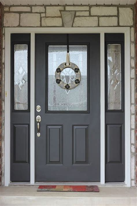 diy exterior door painting your front door diy tutorial a life