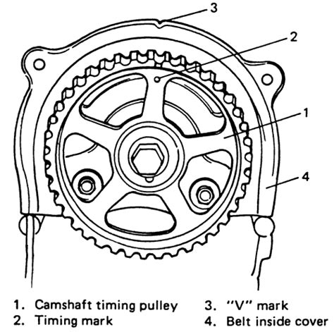 2006 Suzuki Forenza Timing Marks Repair Guides Engine Mechanical Timing Belt And