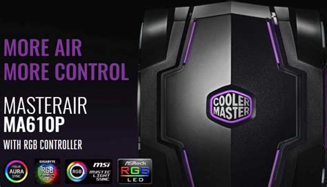 Cooler Master Master Air Ma610p cooler master masterair ma610p and ma410p review eteknix