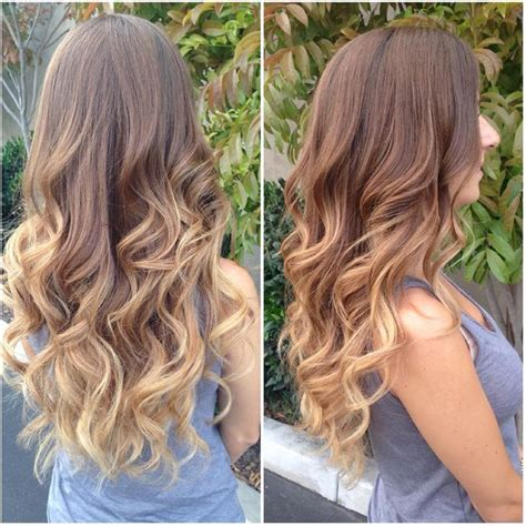 pictures of brown and blode ombre hair 25 best ideas about light brown ombre on pinterest