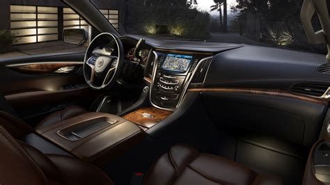 2015 cadillac escalade interior inside the 2015 cadillac escalade news car and driver