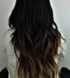 black hair to light brown black to brown to light brown ombre hair styles