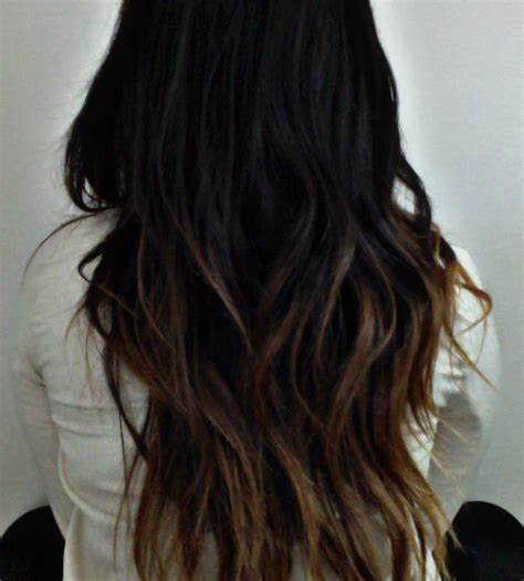 dark brown hair with light brown ombre black to brown to light brown ombre hair styles pinterest