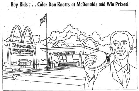 Mcdonalds Coloring Pages free coloring pages of mcdonalds logo