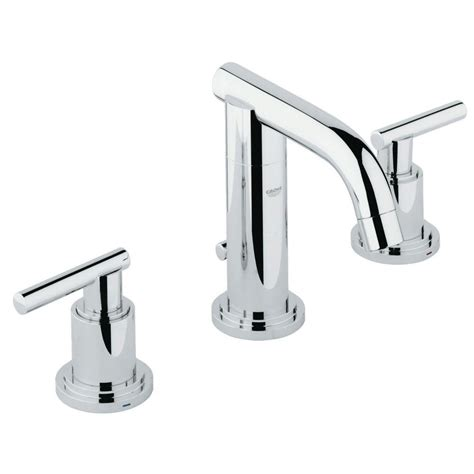 grohe atrio bathroom faucet grohe atrio 8 in widespread 2 handle low arc widespread