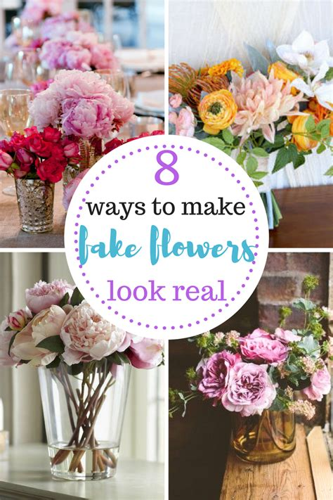 7 Ways To Make Cheap Gifts Look Chic by 8 Ways To Make Flowers Look Real Organizing Home