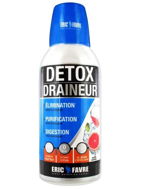Slim Detox Eric Favre by Eric Favre Detox Draineur 500 Ml Acheter 224 Prix Bas Ici