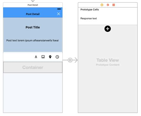 uitableview uiview encapsulated layout height ios swift setting height of uiview container to the