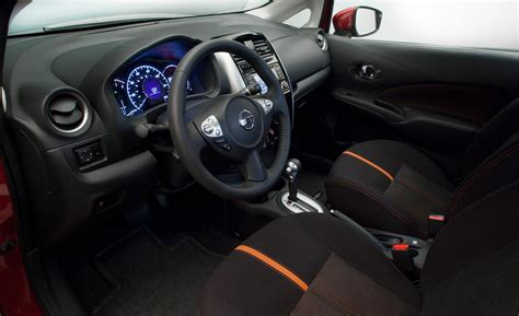 nissan note interior 2012 car and driver