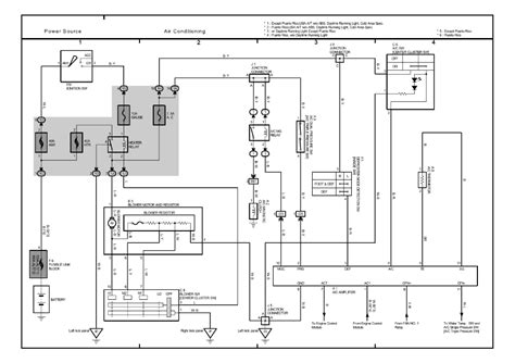 toyota hiace air con wiring diagram wiring diagram sahife
