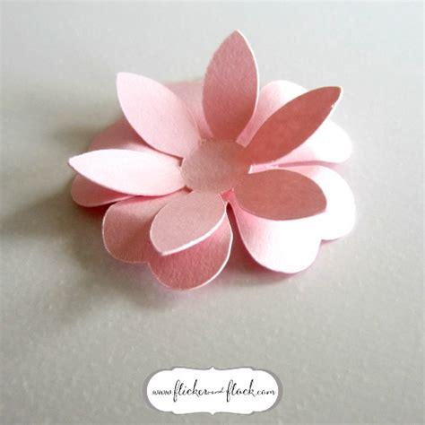 paper flower diy template diy paper flower card freebie template flicker flock