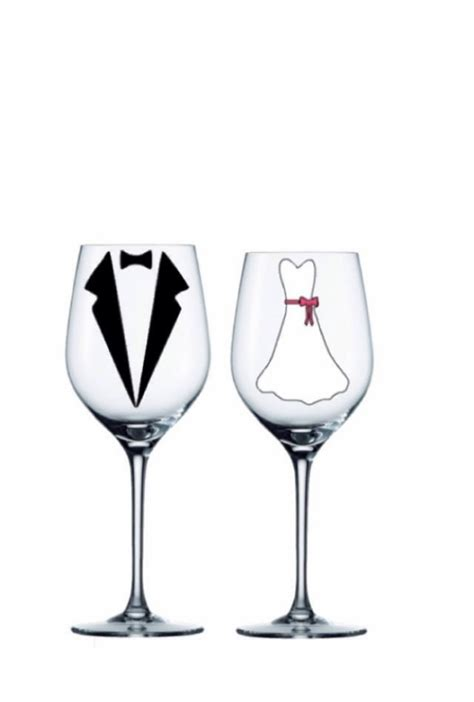 Wedding Gift Wine Glasses by Groom Personalized Glasses Set Of 2 Personalized