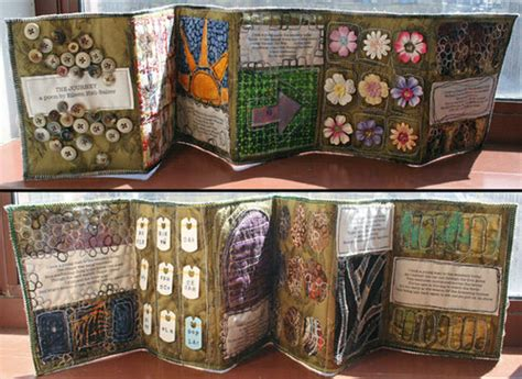upholstery book mini books the journey fabric book