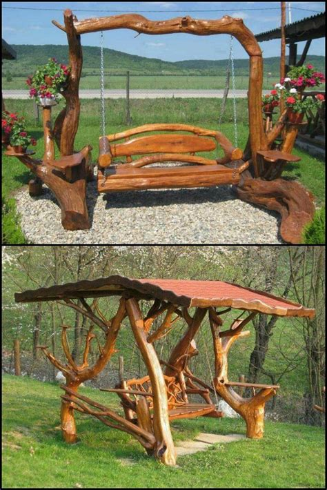 rustic swings 17 best images about for the home on pinterest hot tub